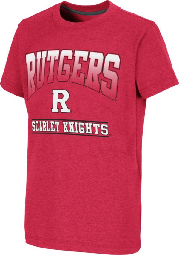 Colosseum Youth Rutgers Scarlet Knights Scarlet Toffee T-Shirt product image
