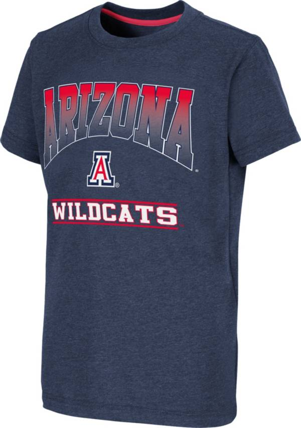 Colosseum Youth Arizona Wildcats Navy Toffee T-Shirt product image