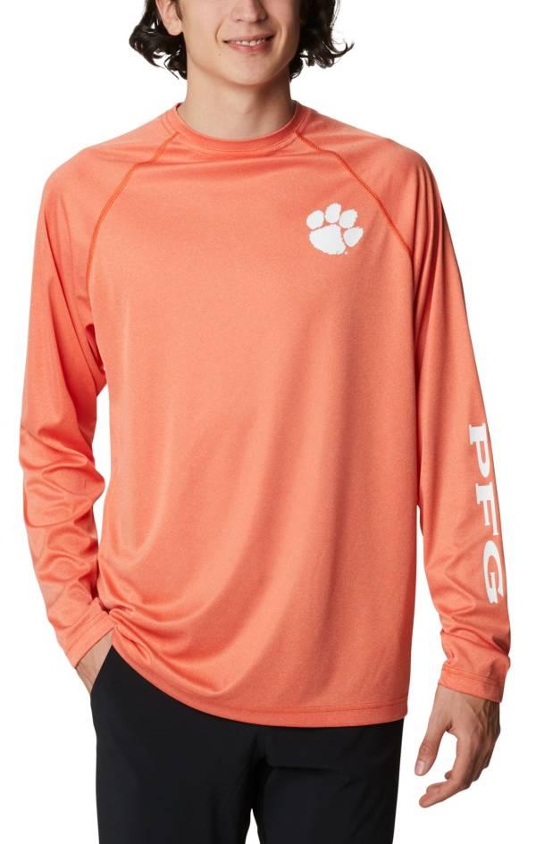 Columbia Men's Clemson Tigers Orange Terminal Tackle Long Sleeve T-Shirt product image