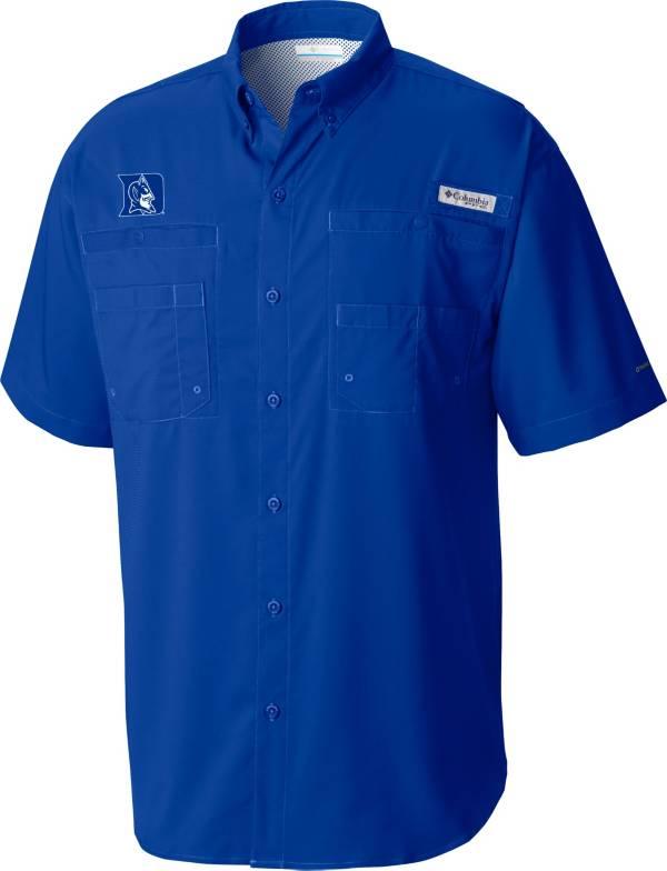 Columbia Men's Duke Blue Devils Duke Blue Tamiami Button Down Shirt product image