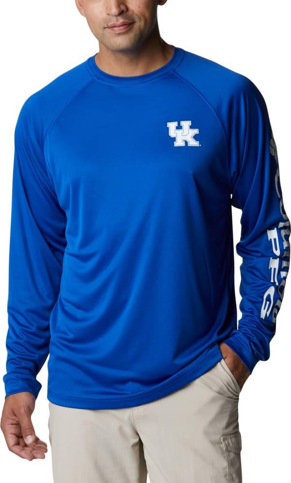 Columbia Men's Kentucky Wildcats Blue Terminal Tackle Long Sleeve T-Shirt product image