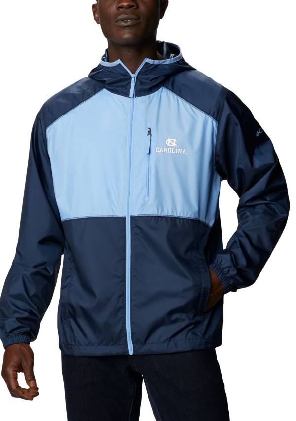 Columbia Men's North Carolina Tar Heels Carolina Blue Flash Forward Full-Zip Jacket product image