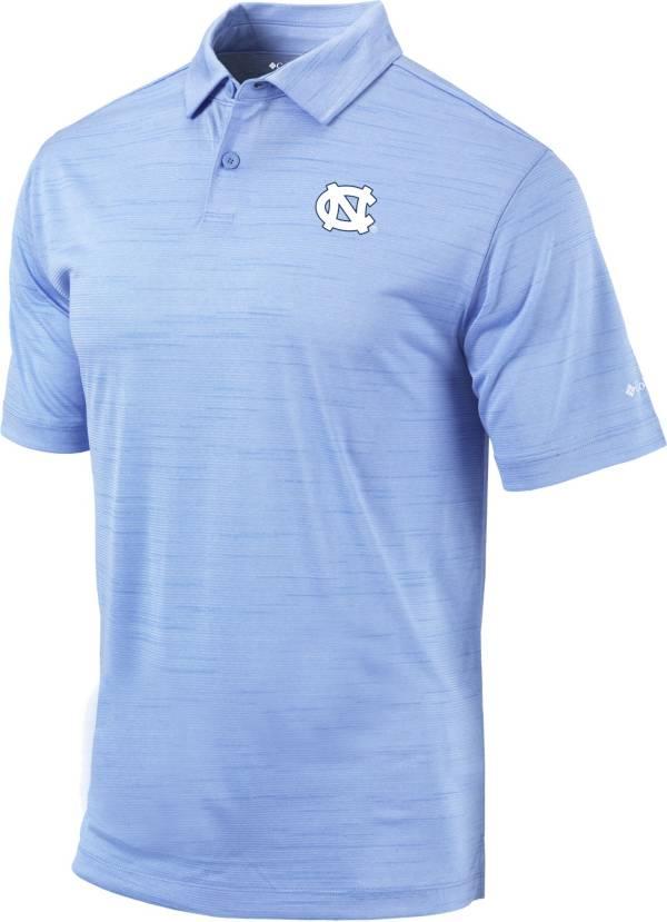 Columbia Men's North Carolina Tar Heels White Omni-Wick Set Performance Polo product image