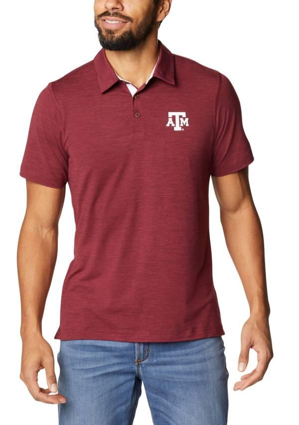 Columbia Men's Texas A&M Aggies Maroon Tech Trail Polo product image