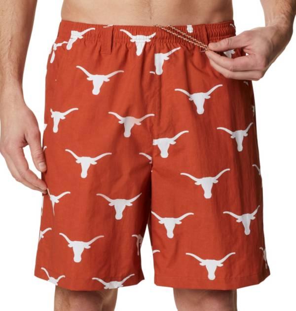 Columbia Men's Texas Longhorns Burnt Orange Backcast II Printed Performance Shorts product image