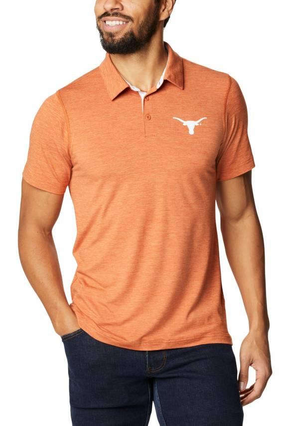 Columbia Men's Texas Longhorns Burnt Orange Tech Trail Polo product image