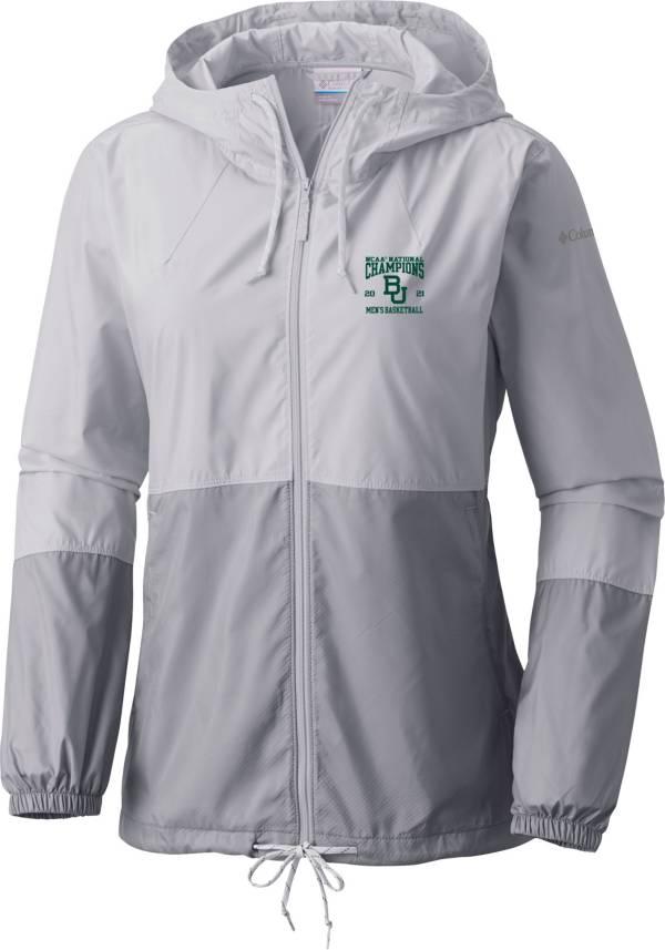 Columbia Women's Baylor Bears 2021 Men's Basketball Champions Flash Forward Full-Zip Jacket product image