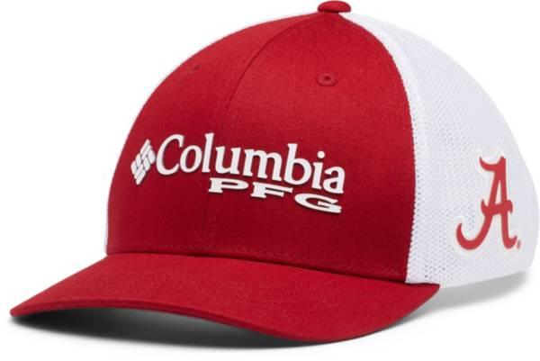 Columbia Youth Alabama Crimson Tide Crimson PFG Mesh Adjustable Hat product image