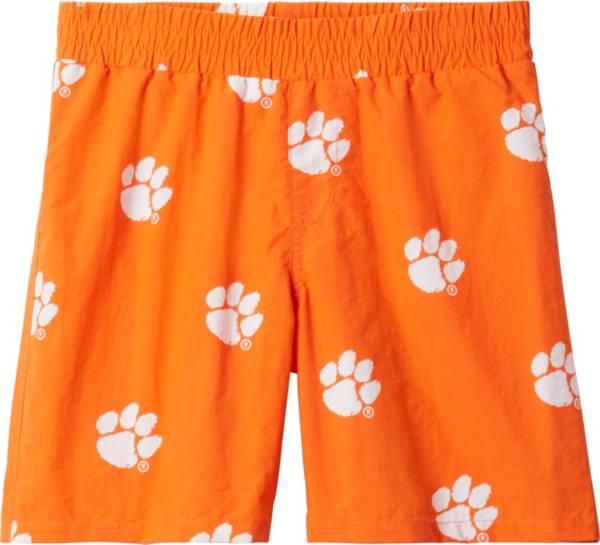 Columbia Youth Clemson Tigers Backcast Printed Performance Orange Shorts product image