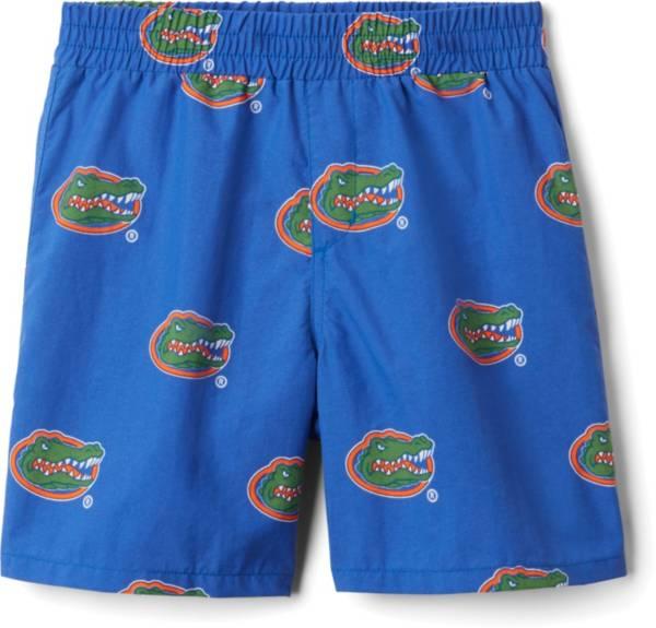 Columbia Youth Florida Gators Backcast Printed Performance Blue Shorts product image