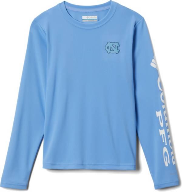 Columbia Youth North Carolina Tar Heels Carolina Blue Terminal Tackle Long Sleeve T-Shirt product image