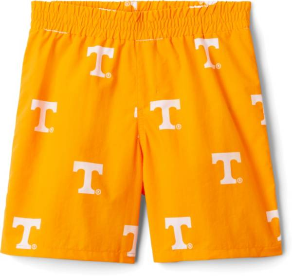 Columbia Youth Tennessee Volunteers Backcast Printed Performance White Shorts product image