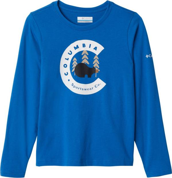 Columbia Youth Dobson Pass Graphic Long Sleeve Shirt product image