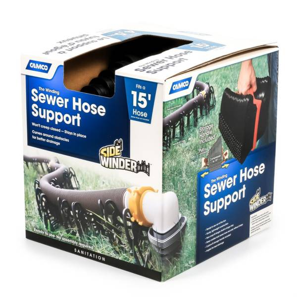 Camco Sidewinder 15' Sewer Hose Support product image