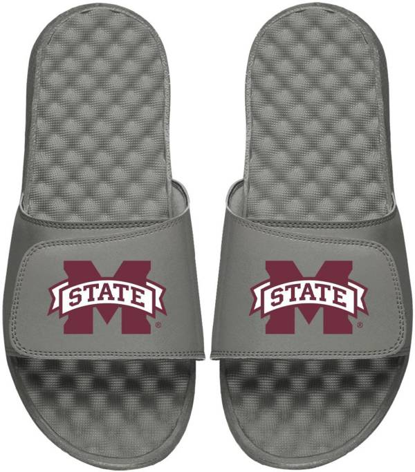 ISlide Youth Mississippi State Bulldogs Grey Logo Slide Sandals product image