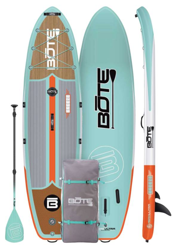 """BOTE Breeze Aero 10'8"""" inflatable Stand-Up Paddle Board product image"""