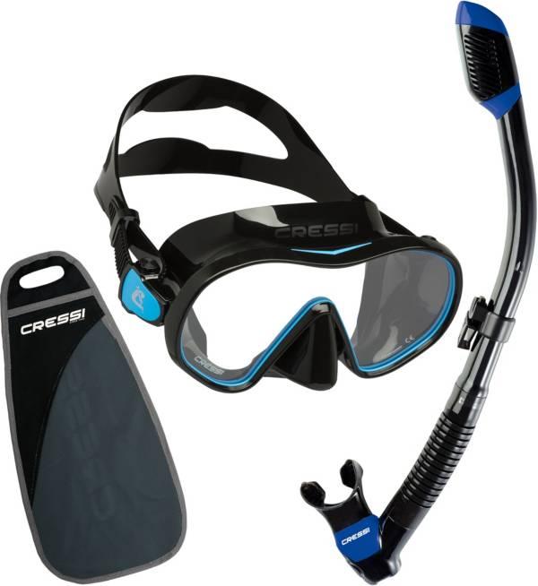 Cressi F-Dual & Supernova Dry Snorkeling Combination Set product image