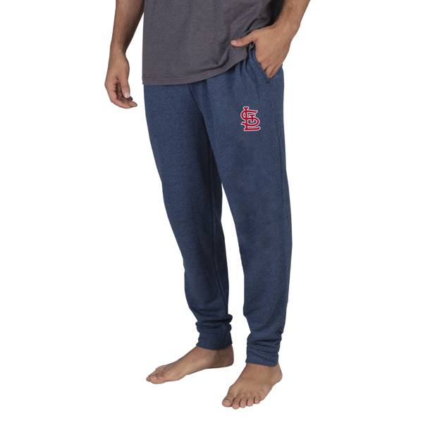 Concepts Sport Men's St. Louis Cardinals Navy Mainstream Cuffed Pants product image