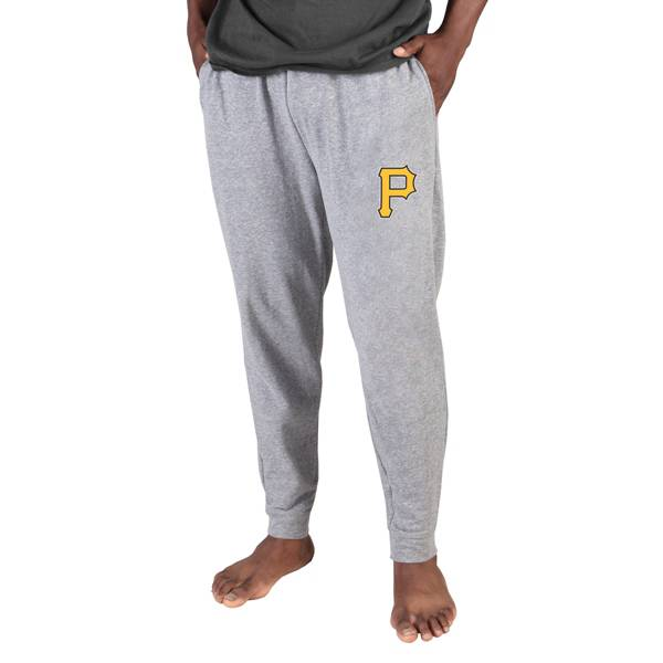 Concepts Sport Men's Pittsburgh Pirates Gray Mainstream Cuffed Pants product image