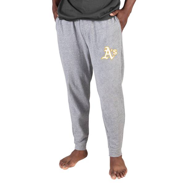 Concepts Sport Men's Oakland Athletics Gray Mainstream Cuffed Pants product image