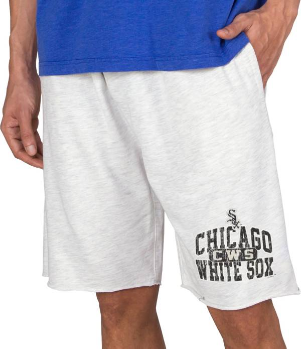 Concepts Men's Chicago White Sox White Terry Shorts product image