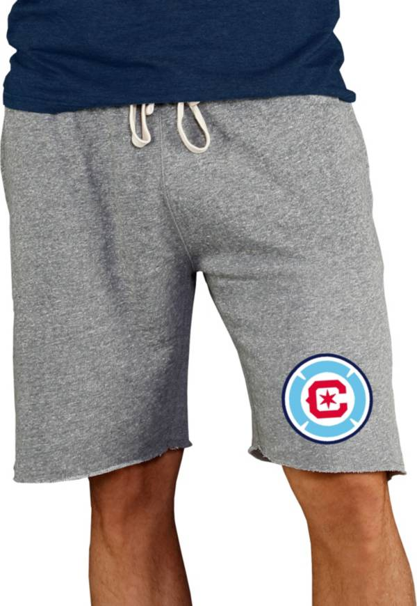 Concepts Sport Men's Chicago Fire Grey Mainstream Terry Shorts product image