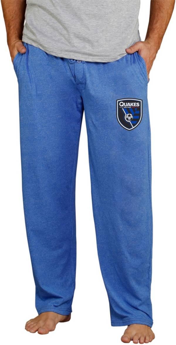 Concepts Sport Men's San Jose Earthquakes Quest Royal Knit Pants product image