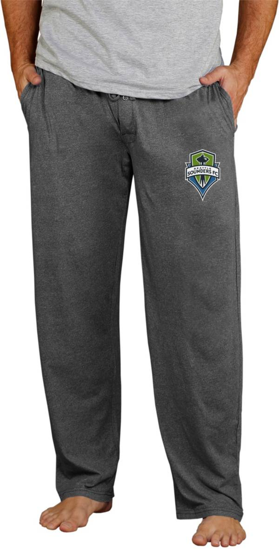 Concepts Sport Men's Seattle Sounders Quest Charcoal Knit Pants product image