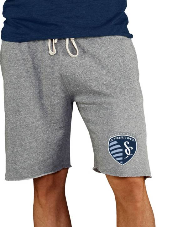 Concepts Sport Men's Sporting Kansas City Grey Mainstream Terry Shorts product image