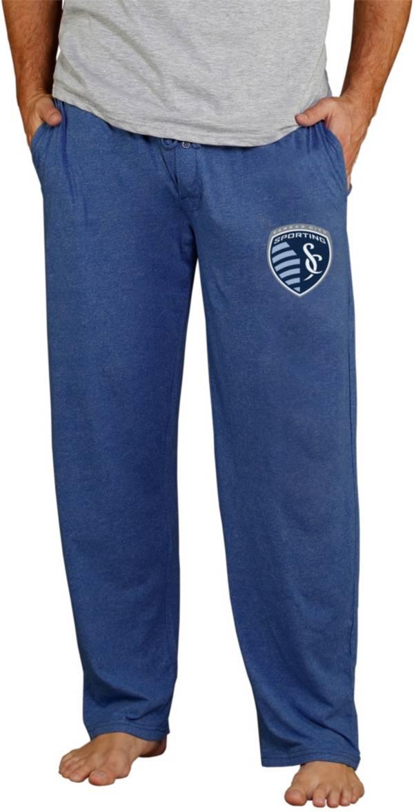 Concepts Sport Men's Sporting Kansas City Quest Navy Knit Pants product image