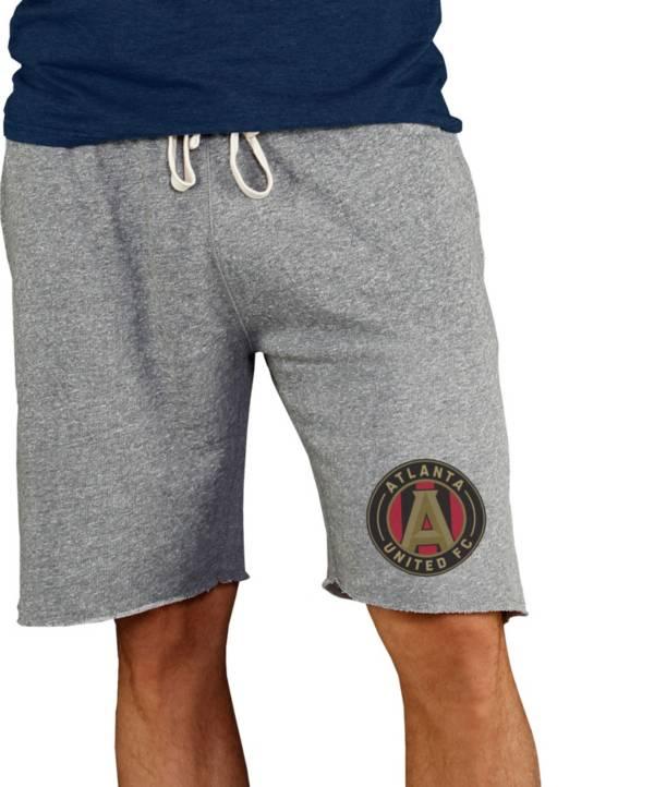 Concepts Sport Men's Atlanta United Grey Mainstream Terry Shorts product image