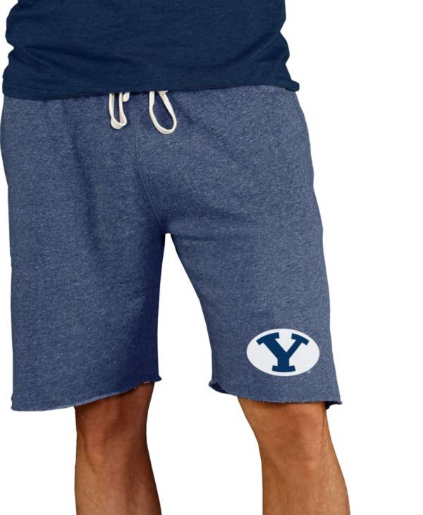 Concepts Sport Men's BYU Cougars Blue Mainstream Terry Shorts product image