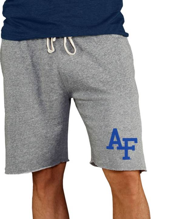 Concepts Sport Men's Air Force Falcons Grey Mainstream Terry Shorts product image