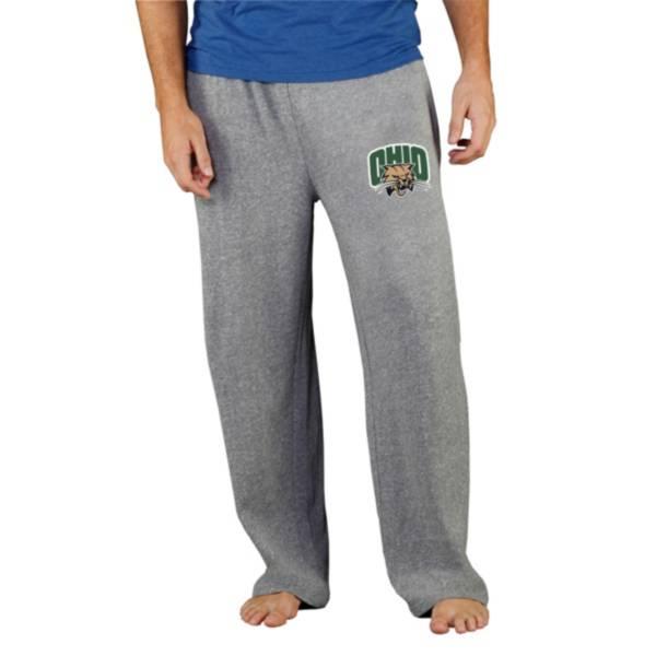 Concepts Sport Men's Ohio Bobcats Grey Mainstream Pants product image