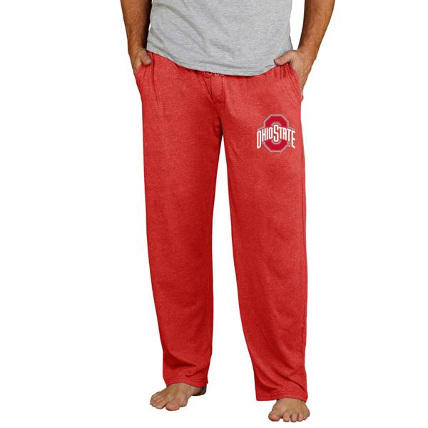 Concepts Sport Men's Ohio State Buckeyes Scarlet Quest Jersey Pants product image