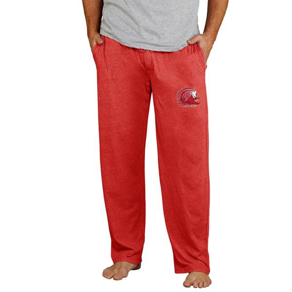 Concepts Sport Men's Jackson State Tigers Red Quest Jersey Pants product image