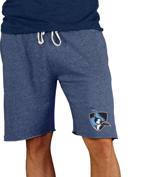 Concepts Sport Men's Johns Hopkins Blue Jays Columbia Blue Mainstream Terry Shorts product image