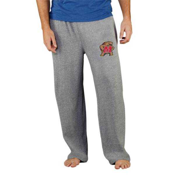 Concepts Sport Men's Maryland Terrapins Grey Mainstream Pants product image