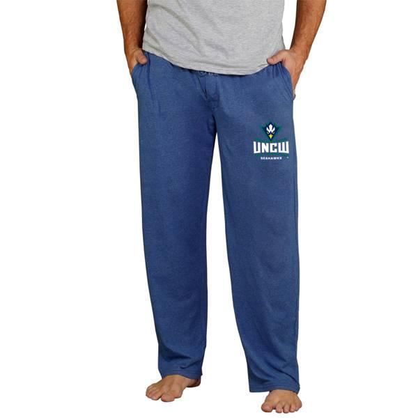 Concepts Sport Men's UNC-Wilmington  Seahawks Navy Quest Jersey Pants product image