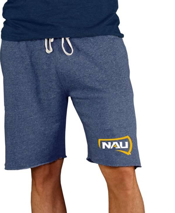 Concepts Sport Men's Northern Arizona Lumberjacks Blue Mainstream Terry Shorts product image