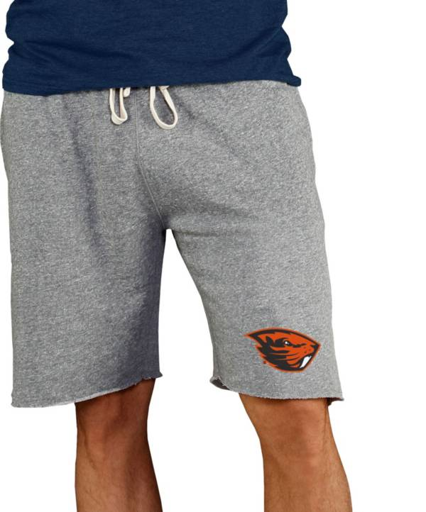 Concepts Sport Men's Oregon State Beavers Grey Mainstream Terry Shorts product image