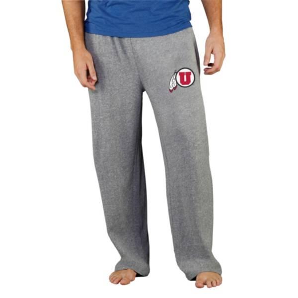 Concepts Sport Men's Utah Utes Grey Mainstream Pants product image