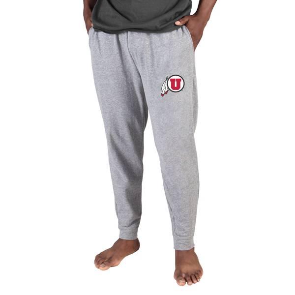 Concepts Sport Men's Utah Utes Grey Mainstream Cuffed Pants product image