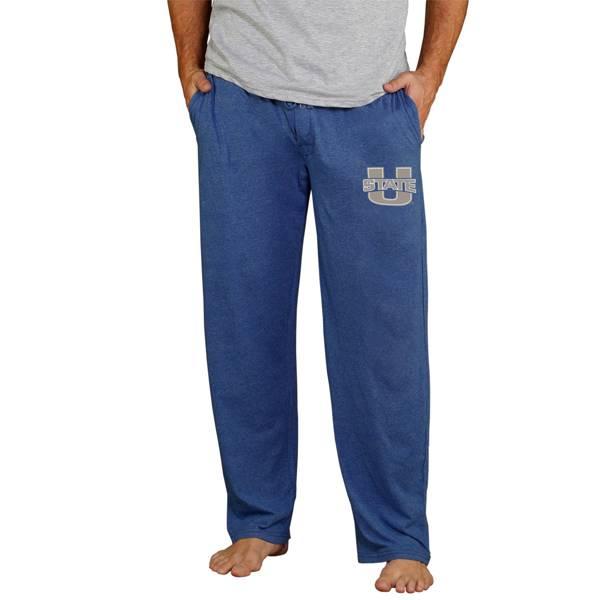 Concepts Sport Men's Utah State Aggies Blue Quest Jersey Pants product image