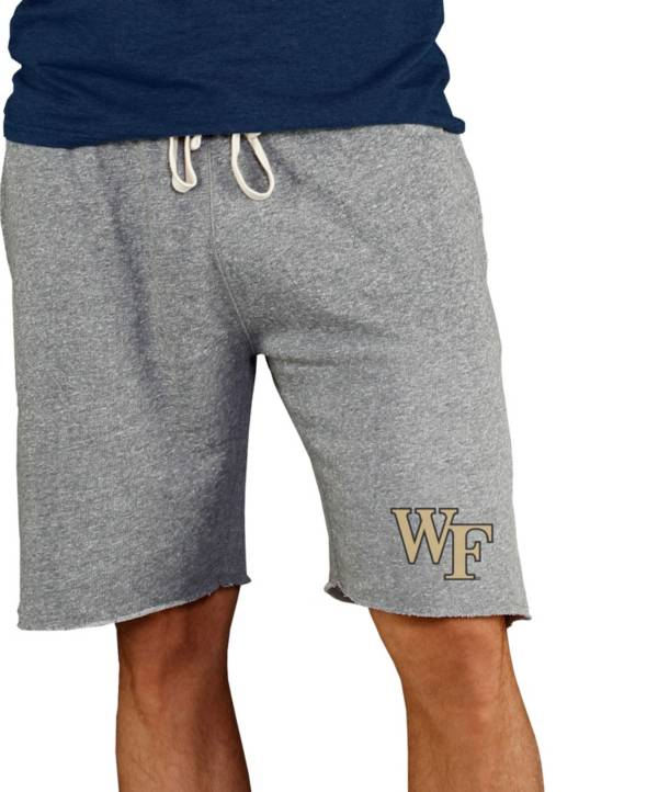 Concepts Sport Men's Wake Forest Demon Deacons Grey Mainstream Terry Shorts product image