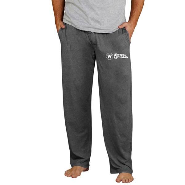 Concepts Sport Men's Western Michigan Broncos Grey Quest Jersey Pants product image