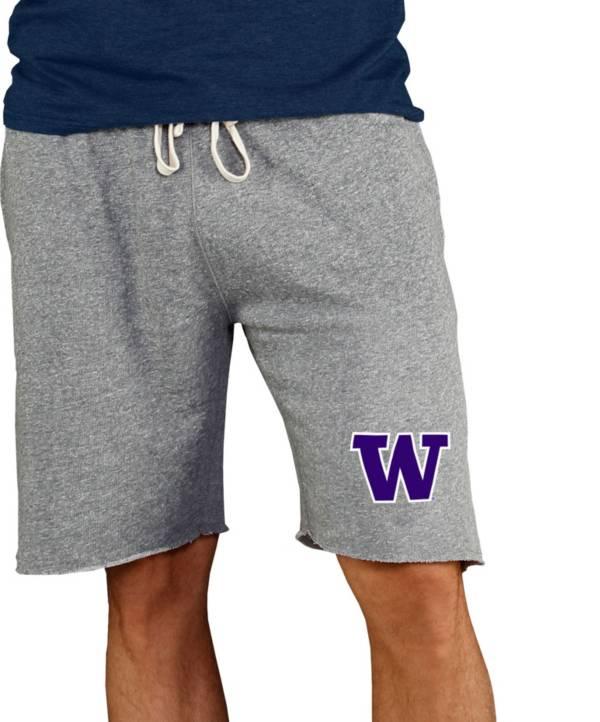 Concepts Sport Men's Washington Huskies Grey Mainstream Terry Shorts product image