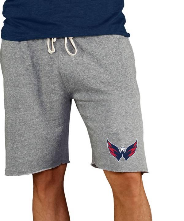 Concepts Sport Men's Washington Capitals Grey Mainstream Terry Shorts product image