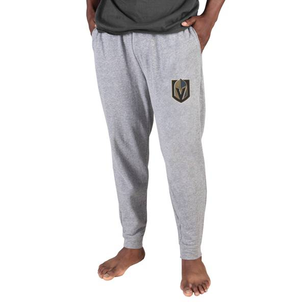 Concepts Sports Men's Vegas Golden Knights Grey Mainstream Cuffed Pants product image