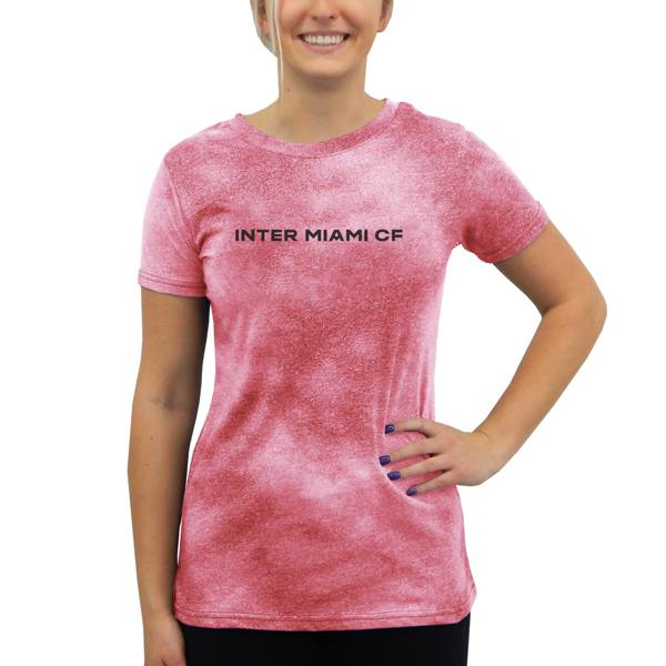 Concepts Sport Women's Inter Miami CF Empennage Pink T-Shirt product image